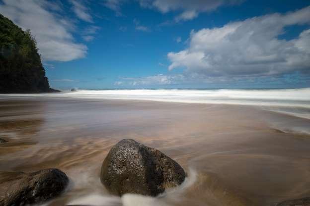 Plaja Hanakapiai, Hawaii, SUA