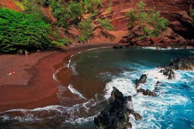 Plaja Kaihalulu, Hawaii, SUA