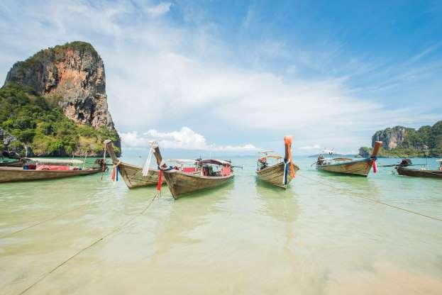 Plaja Railay, Thailanda